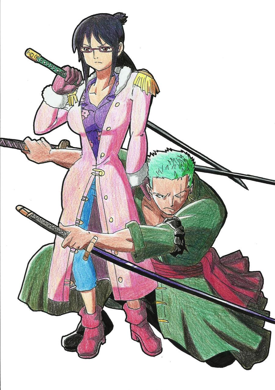 Zoro And Tashigi One Piece Zoro And Tas...