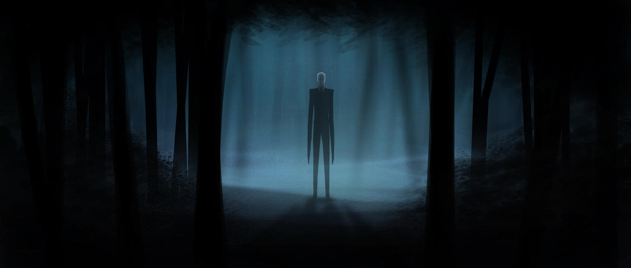 Slender Man by nick-tyrrell