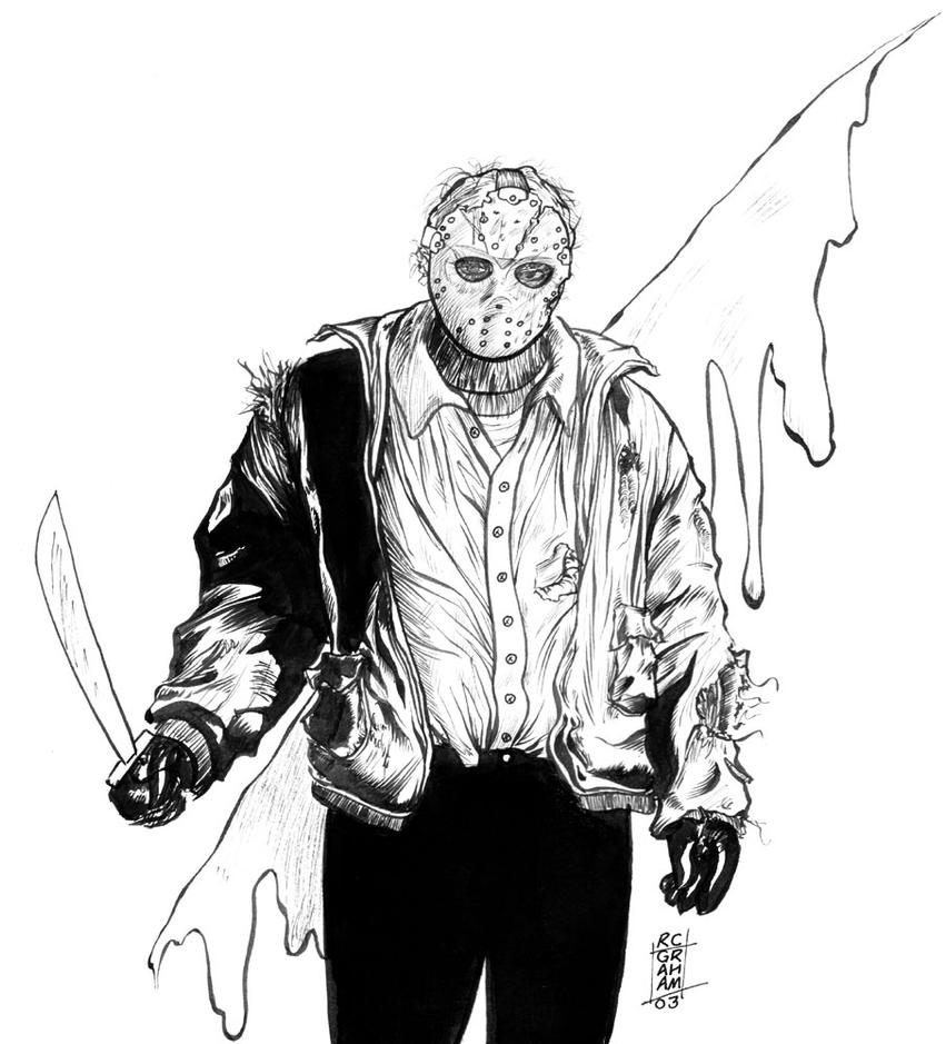 coloring pages of jason - photo#30