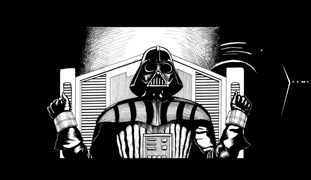 Darth Vader by renonevada