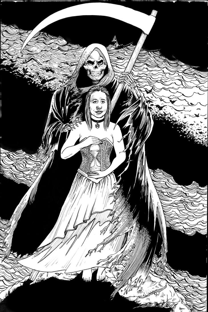 Death Lady commission by renonevada