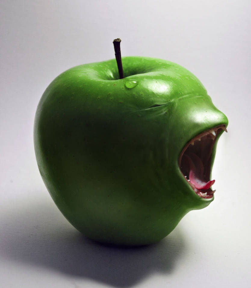 An apple a day... by renonevada