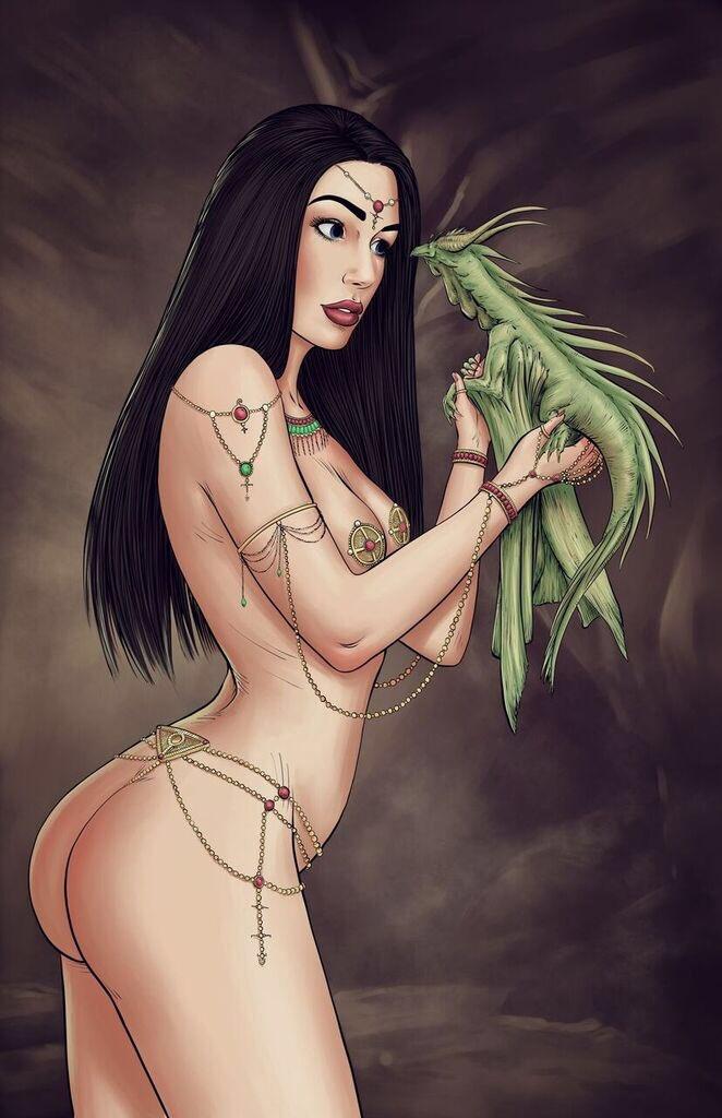Dragon Princess by renonevada