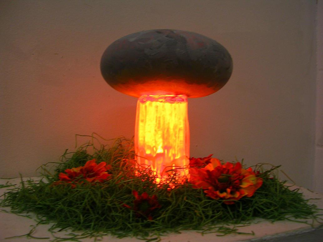 Mushroom Cloud Lamp By AutumnalFrost ...