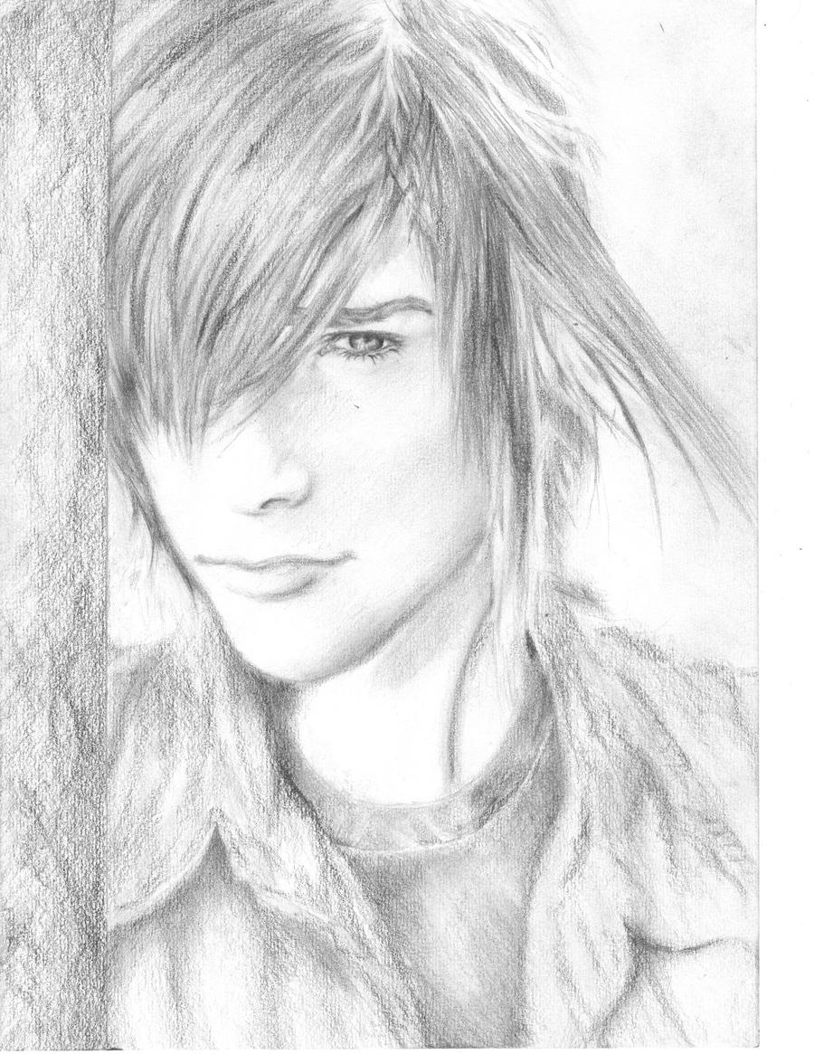 sexy drawing emo boy