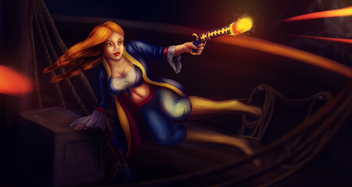 She is a pirate - waterloo by eschata
