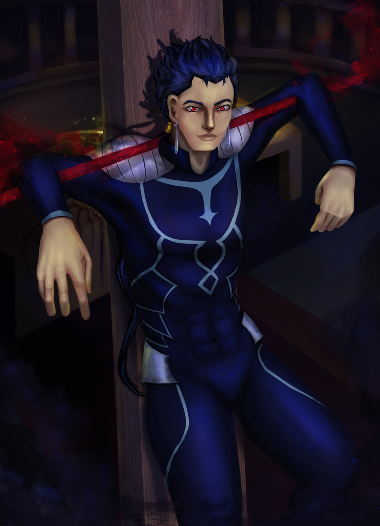 Cu Chulainn - Lancer - Fate by eschata