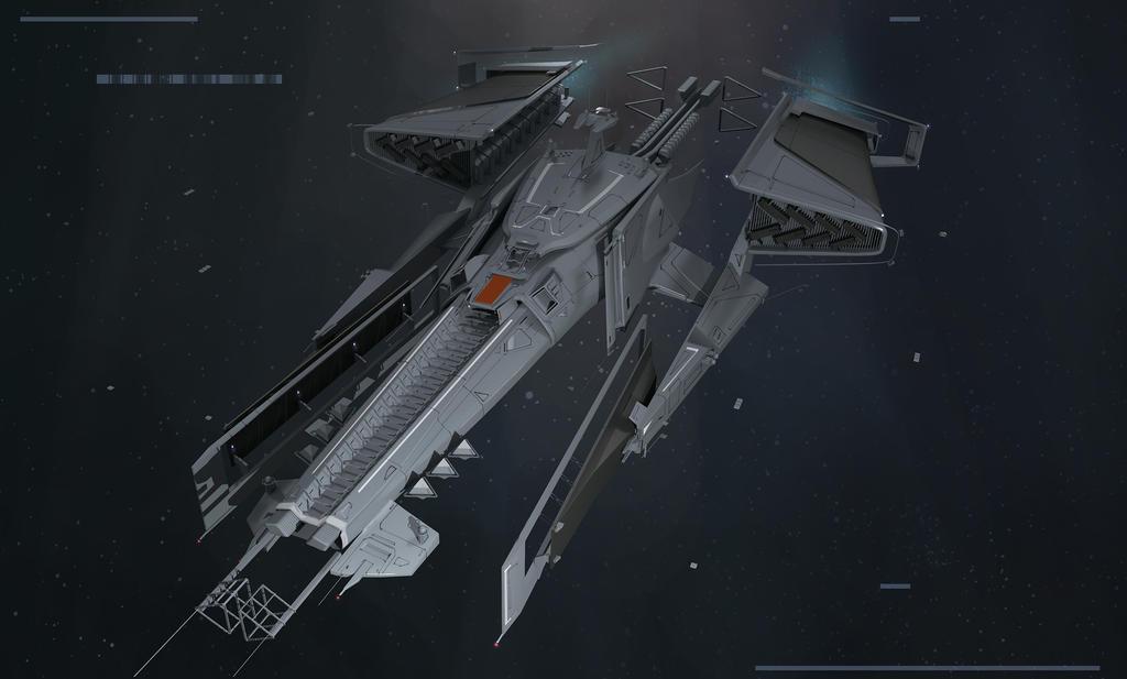 Spaceship design by ArtofChen on DeviantArt