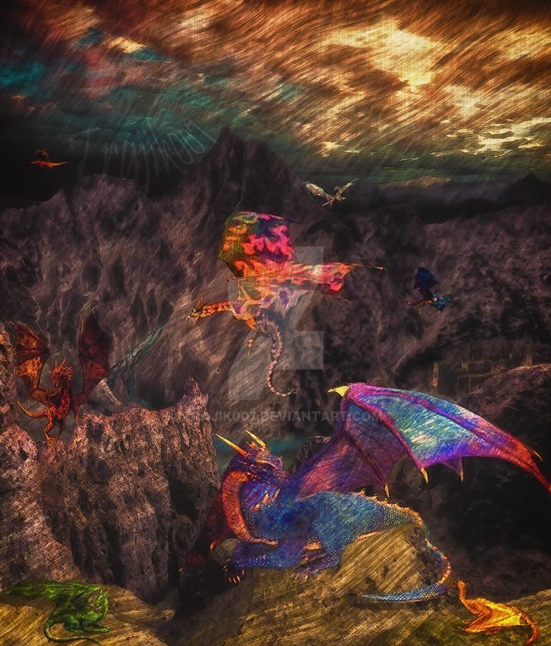 A Dream of Dragons by trajik007