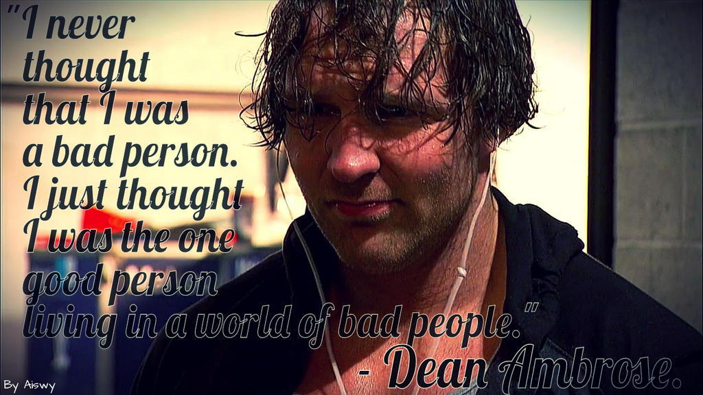 Dean Ambrose By Dixonija