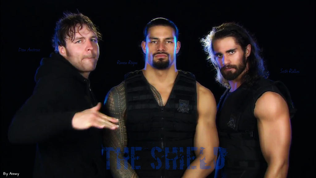 Wwe the shield by dixonija on deviantart - Download pictures of the shield wwe ...