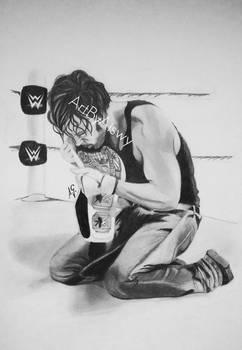 Dean Ambrose by Aiswy