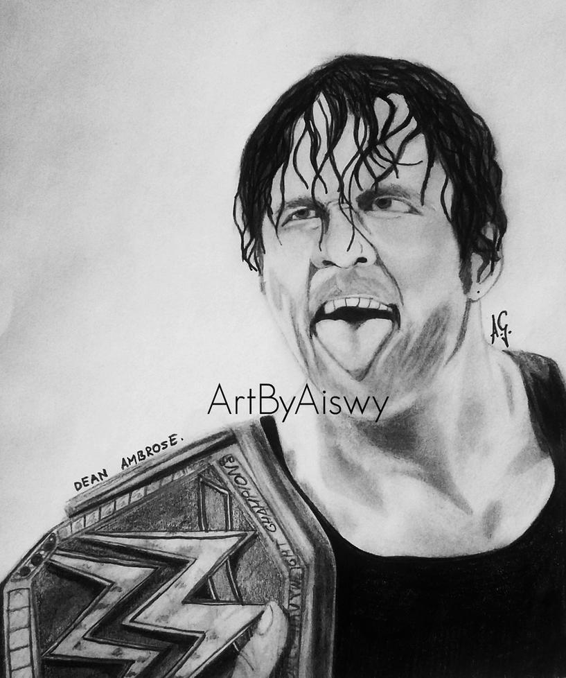 Dean Ambrose by Aiswy by Dixonija