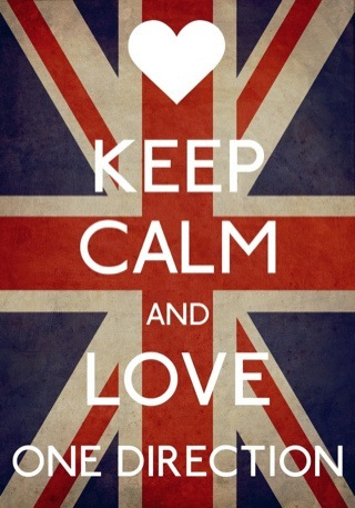 Keep Calm And Love One Direction By SenseiFutureMrsHoran