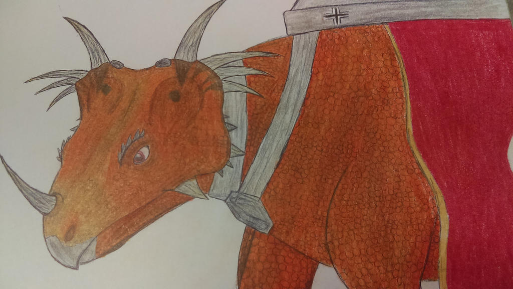 Dino D-Day Styracosaur by Ravakian-RavenScar