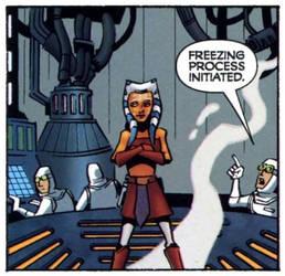 Ahsoka in Carbon Freezing Chamber (SOD)