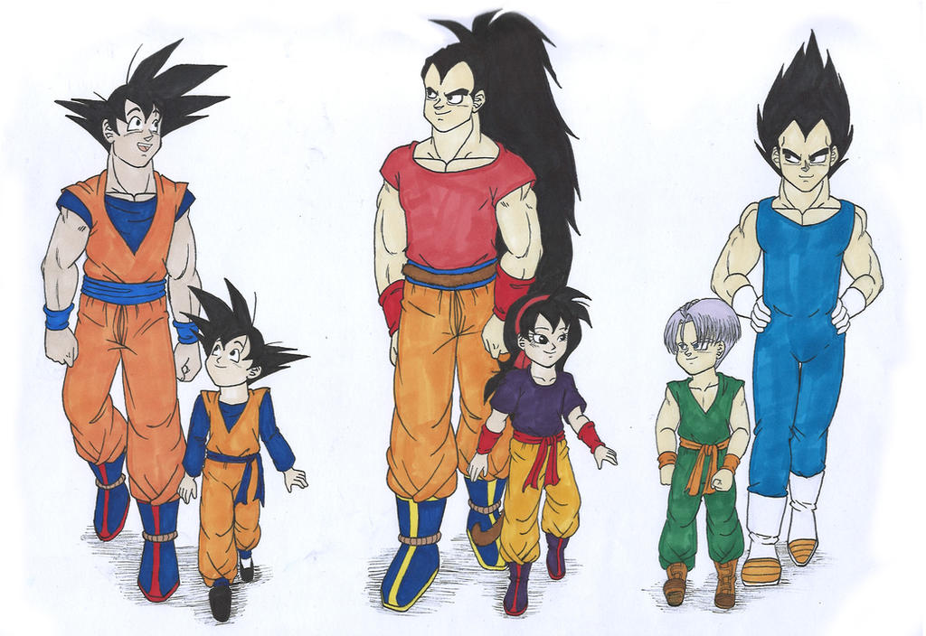 Db fathers and kids what if raditz turned good by for Db ranch