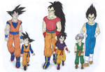 DB - Fathers and kids (What if Raditz turned good)