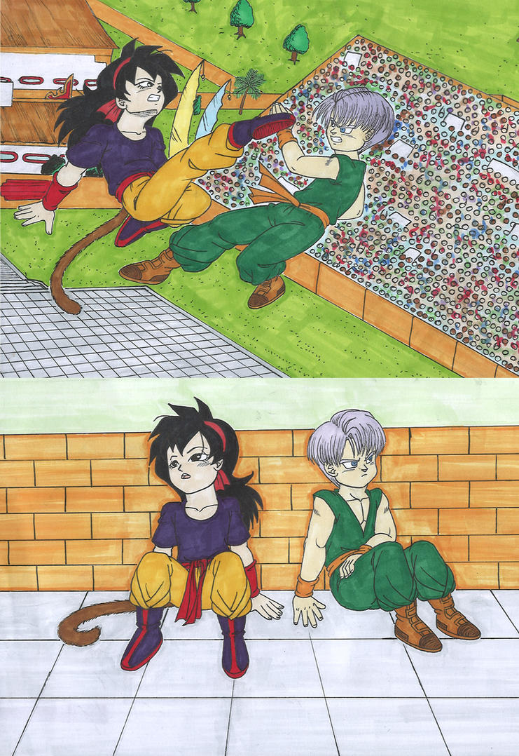 Db trunks and ranch tournament battle by isabellafaleno for Db ranch