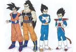DB - Saiyan brothers