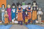 DB - Tournament of Power - Universe 7 team