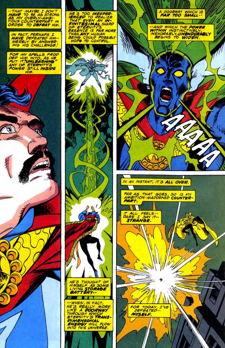 Doctor Strange comes to Bargain DEATH BATTLE! by MemelordFax