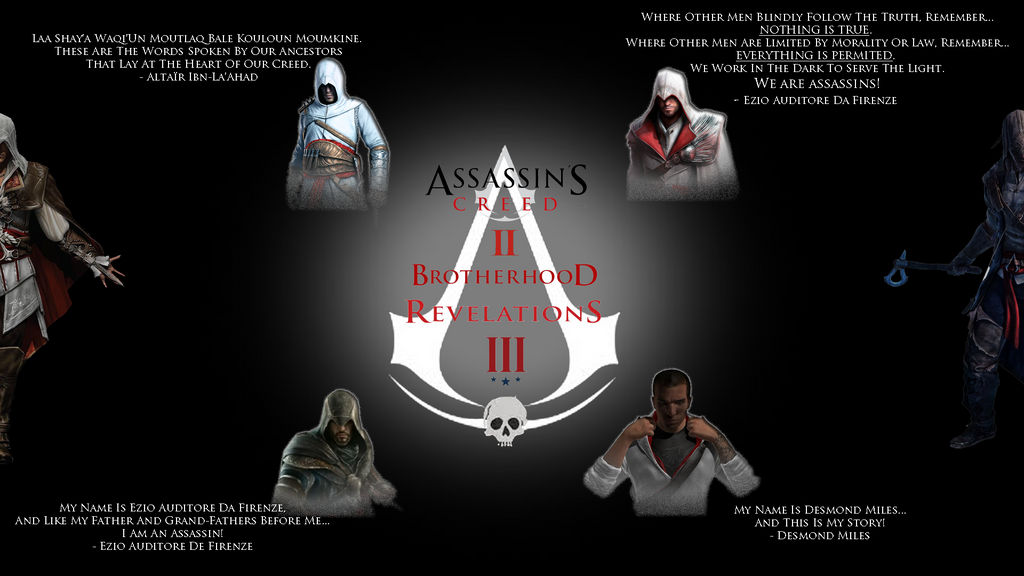 Assassin S Creed Best Quotes Hd Background By Kokomanu31 On