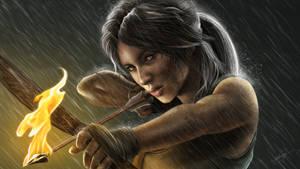Lara Croft ( Tomb Raider Reborn ) by isaiahpaulcabanting