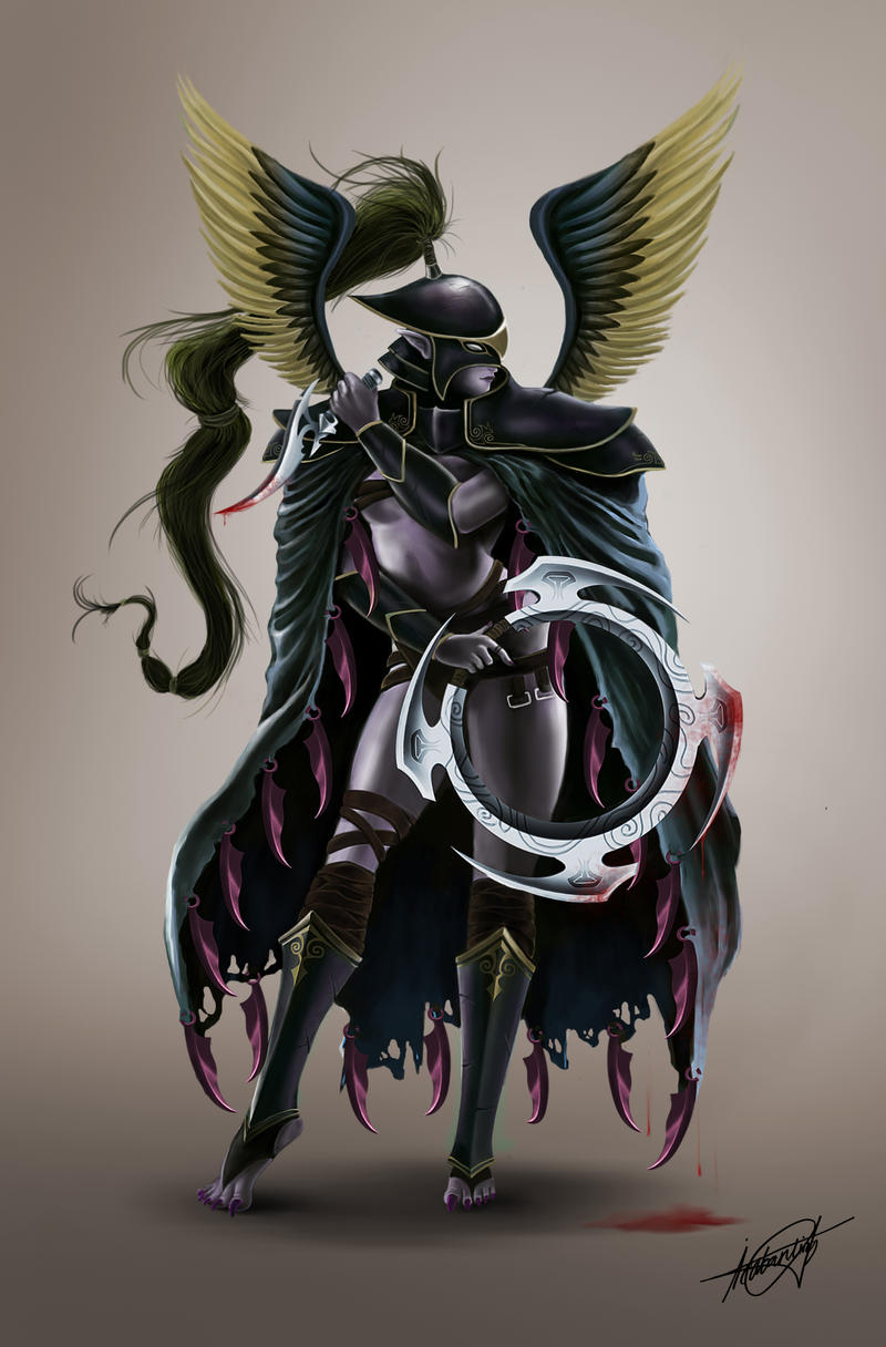 Mortred the Phantom Assassin by isaiahpaulcabanting on