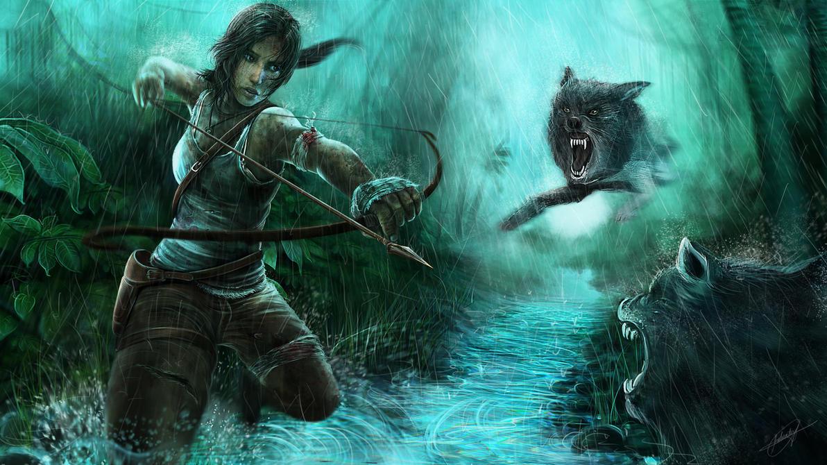 The Wild Hunt ( Tomb Raider Reborn ) by isaiahpaulcabanting