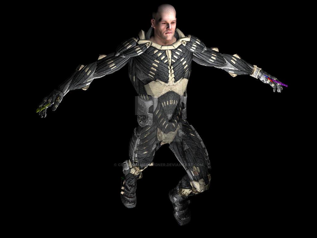 Rigging-Skinning By CrytekGameDesigner On