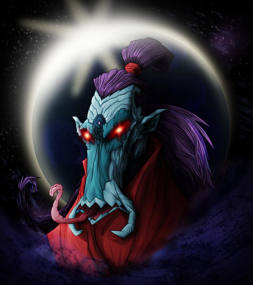 Tso Lan,the Moon Demon by CountWildrake