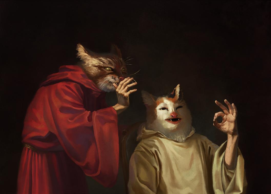 Cat Meme Renaissance