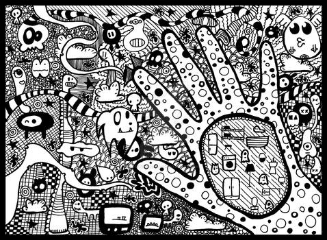 doodle Hand
