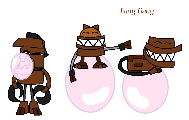 Bubblegum Fang Gang By Worldofcaitlyn On DeviantArt