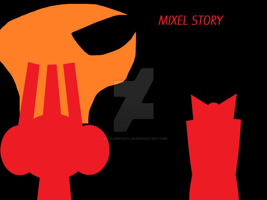 MixelsXTS - Poster by worldofcaitlyn