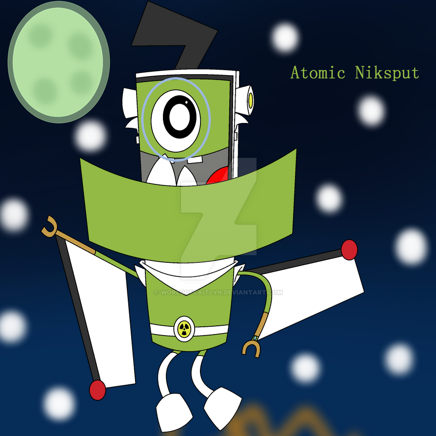 Atomic Niksput By Worldofcaitlyn On DeviantArt