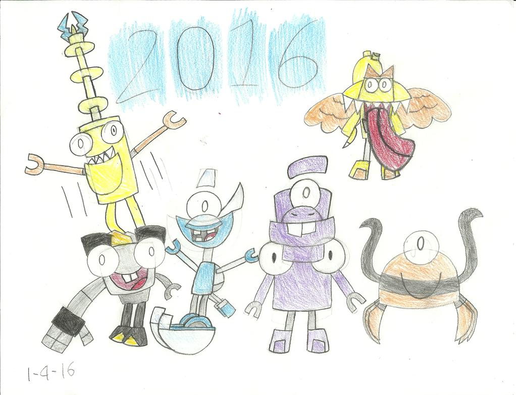 Mxls - Happy New Years 2016! by worldofcaitlyn