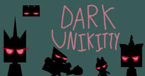 UNKYXMLP - Dark Unikitty by worldofcaitlyn