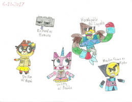 UNKYXPMMM - The Five Magical Heroes by worldofcaitlyn