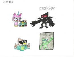 UNKY - Hawkodile drawings by worldofcaitlyn