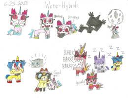 UNKY - Were-Hybrids doodles - RQ by worldofcaitlyn