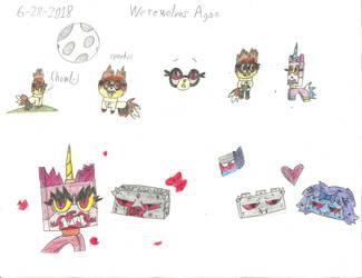 UNKY - More Were-Doodles by worldofcaitlyn