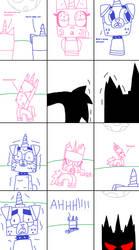 UNKY - Unikitty Turns Into A Were-Hybrid - RQ by worldofcaitlyn