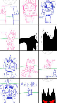 UNKY - Unikitty Turns Into A Were-Hybrid - RQ