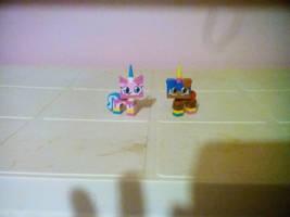 UNKY - Ice Cream Siblings LEGO by worldofcaitlyn