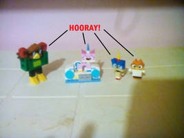 UNKY - Surrounded By Animals LEGO by worldofcaitlyn