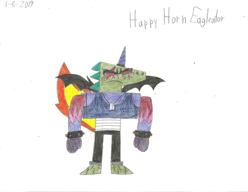 Unky Happy Horn Eagleator By Worldofcaitlyn On Deviantart
