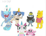 Xovers - Unikitty And Cartoon Friends