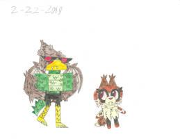 UNKY - Freakshow!Hawkodile X Dr. Fox by worldofcaitlyn